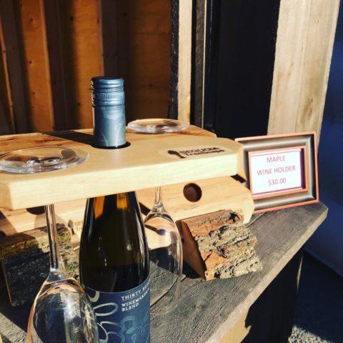 Custom Wine Glass Rack